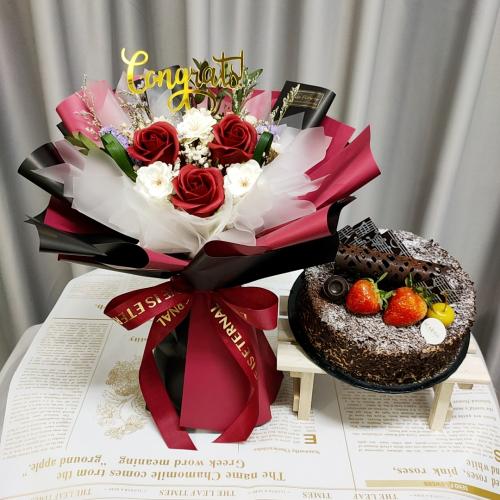 Birthday Package/ Flower+Cake Set 15