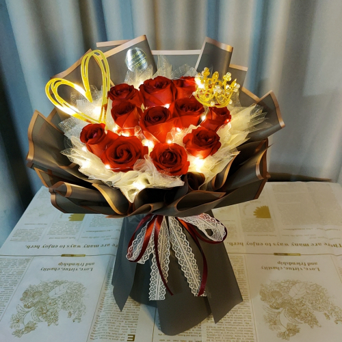 Red Roses Bouquet 011