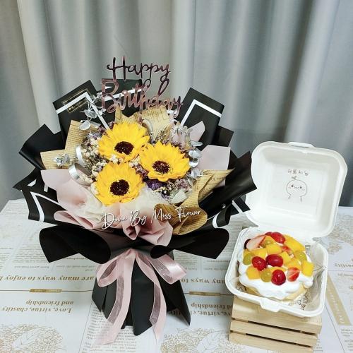 Birthday Package/ Flower+Cake Set 20
