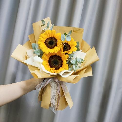 Sunflower bouquet 12