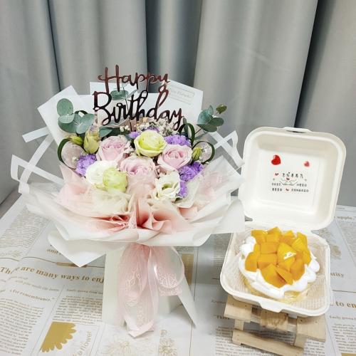 Birthday Package/ Flower+Cake Set 21