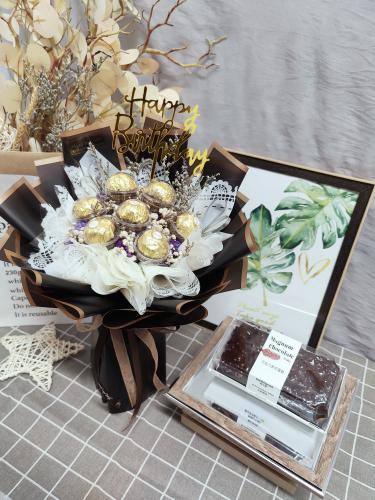 Birthday Package/ Flower+Cake Set 06