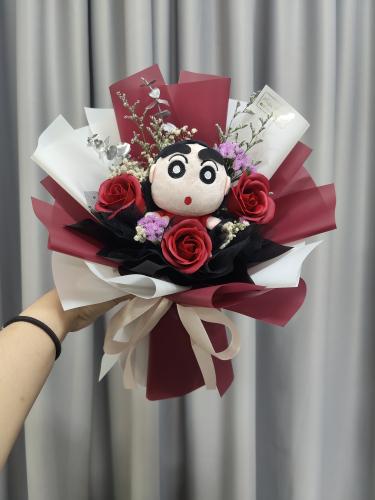 Crayon Shih Chan Bouquet 01