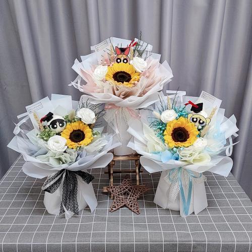 Powerpuff Girl Sunflower Bouquet