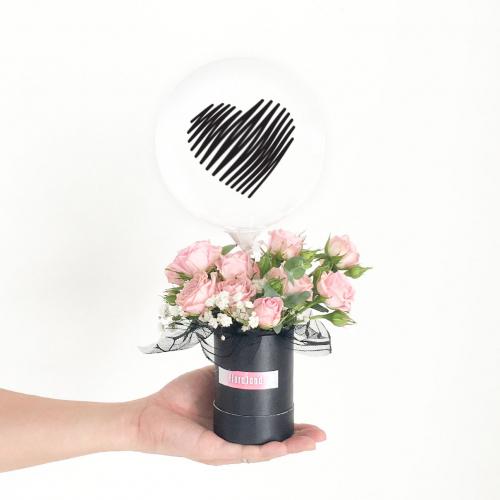 Flower Balloon Box | Coco Pink Rose