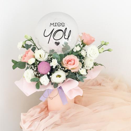 Flower Balloon Box | Hermosa in Box
