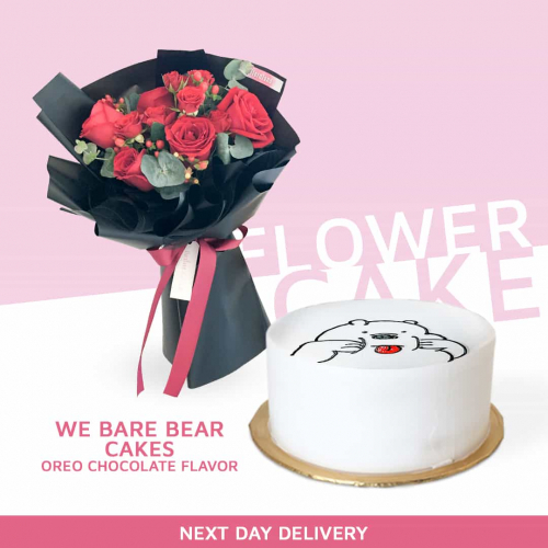 Flower + Cake Bundle 02