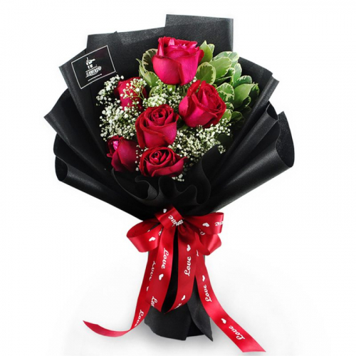 Passion Of Love Flower Bouquet