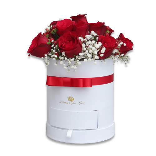 Red Sensation Flower Box
