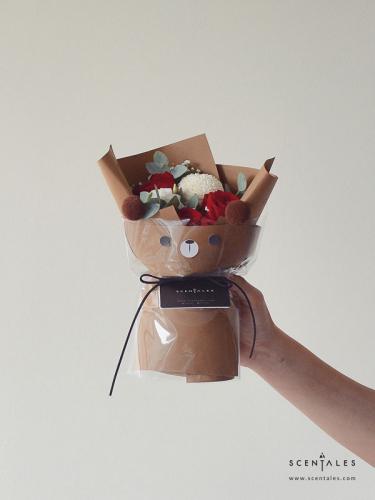Benny The Bear Flower Bouquet