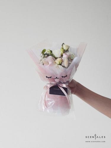 Hunny The Bunny Flower Bouquet (Fresh)
