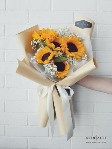 (Pre-order) Sunniva Flower Bouquet