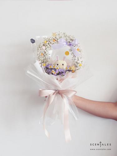 Tsuki The Moon Rabbit Flower Bouquet