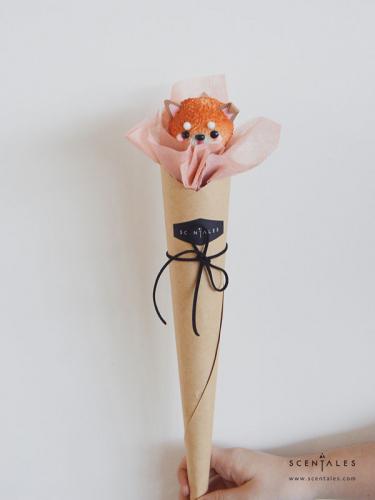 Scentales Corgi Petite Flower Bouquet