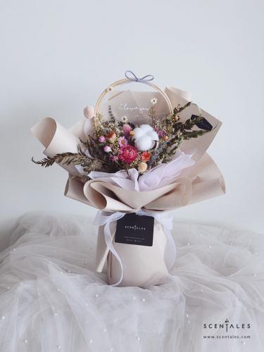 Scentales Ti amo Dried Flower Bouquet