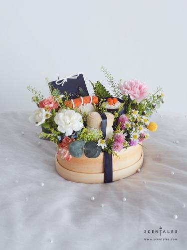 Scentales Sushi Flower Bento