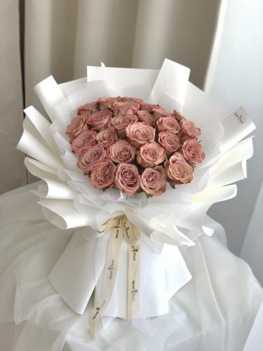 Cappuccino Rose Bouquet