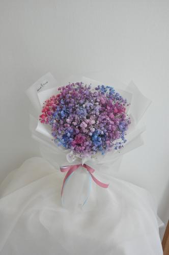 Galaxy Baby Breath bouquet