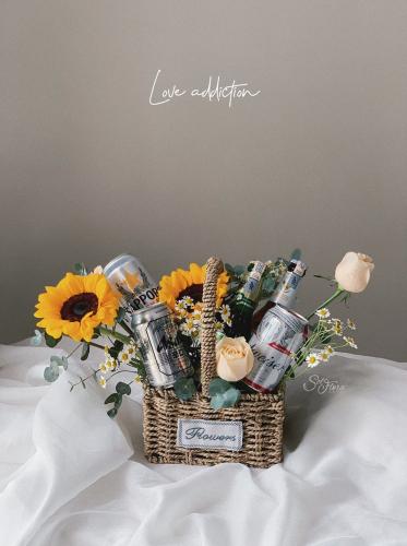 Love addiction Beer basket