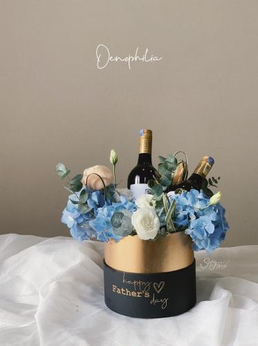 Oenophilia Flower Box - Wine