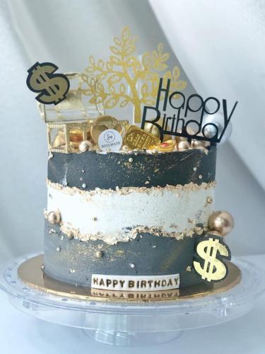 Bling Bling Drawing Money Cake