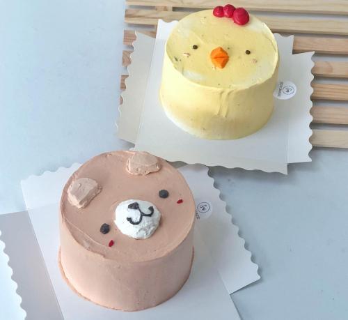 Cutie Little Animal Cake