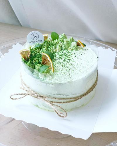 Luna Matcha Cake