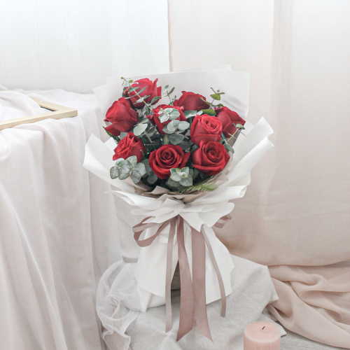 SDTFM13 - ETERNAL Red Rose Bouquet