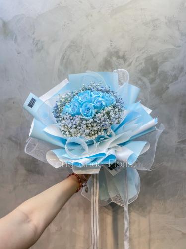 Soap Roses - modra ljubezen