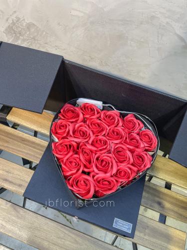 Soap Roses flower Box