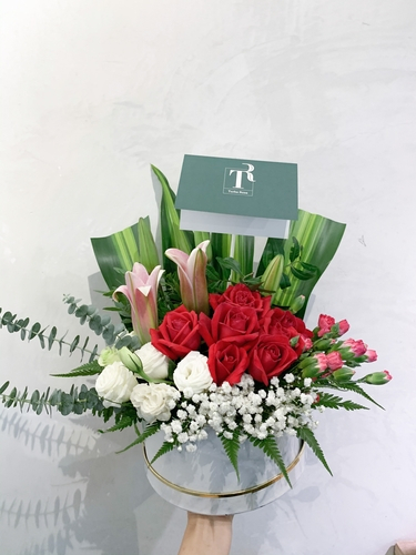 Artificial Flowers Garden in Box