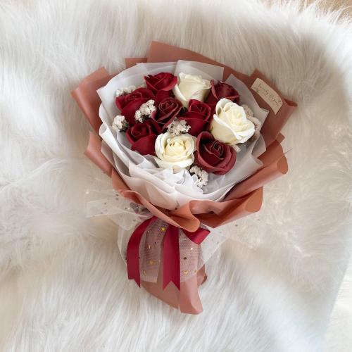 Rachel Soap Flower Bouquet