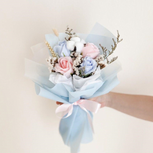 (Specific Date) Jasmine Soap Flower Bouquet