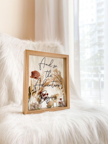 Louisa Flower Frame