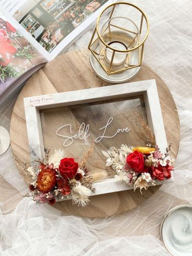 Celia Preserved Flower Frame