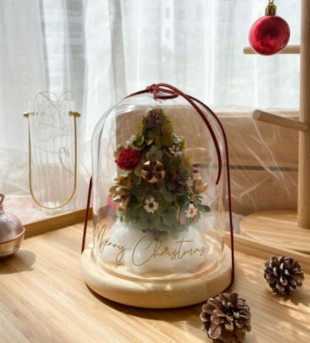 Jolly Christmas Bell Jar