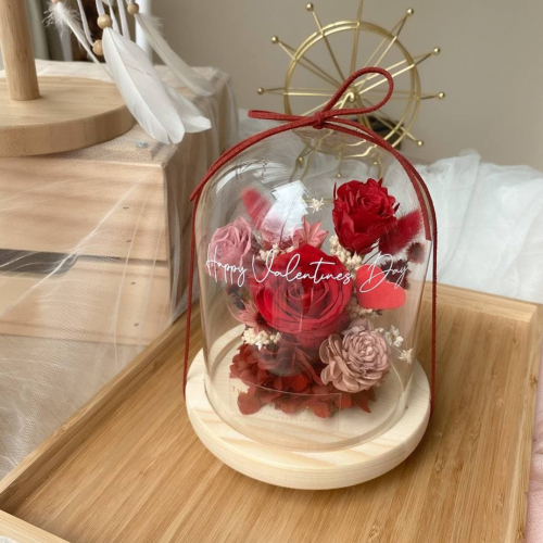 Anerly Preserved Flower Bell Jar