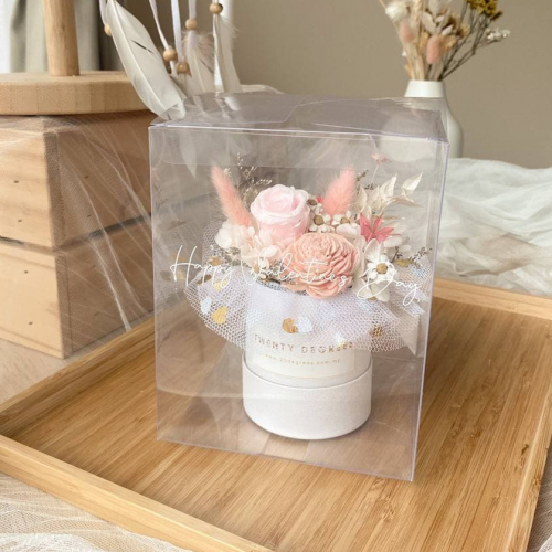 Cassy Preserved Flower Box