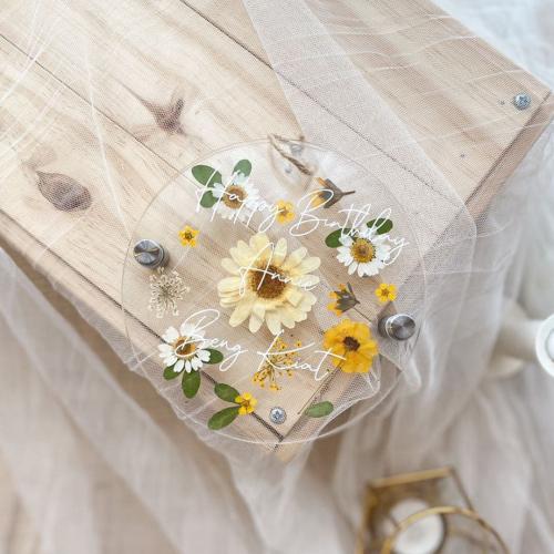 Estelle Pressed Flower