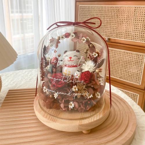 Keiko Preserved Flower Bell Jar
