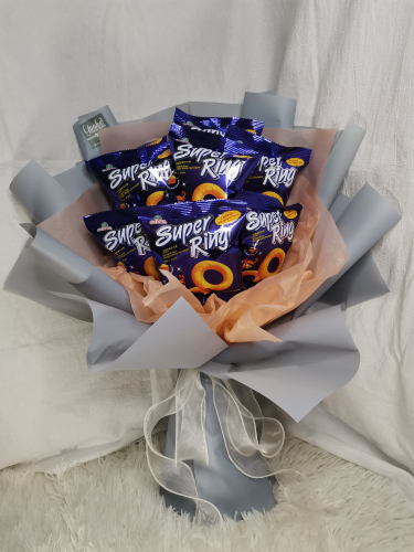 Super Ring Bouquet - Snacks Bouquet