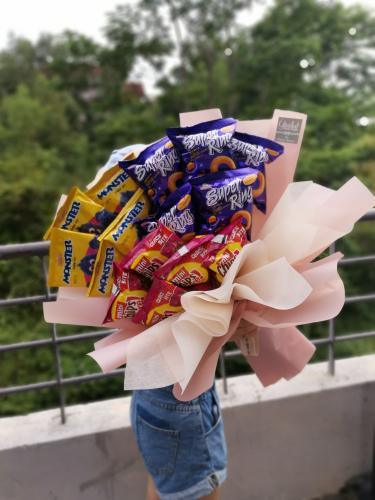 Foodie Bouquet - Snacks Bouquet