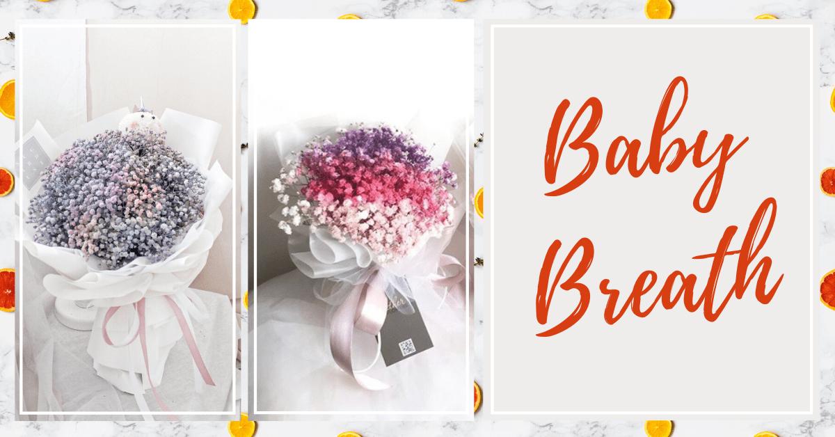 Baby Breath Bouquet Kuala Lumpur