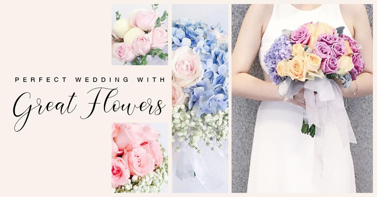 Bridal Flower Bouquets Kuala Lumpur  - TheFloristMarket