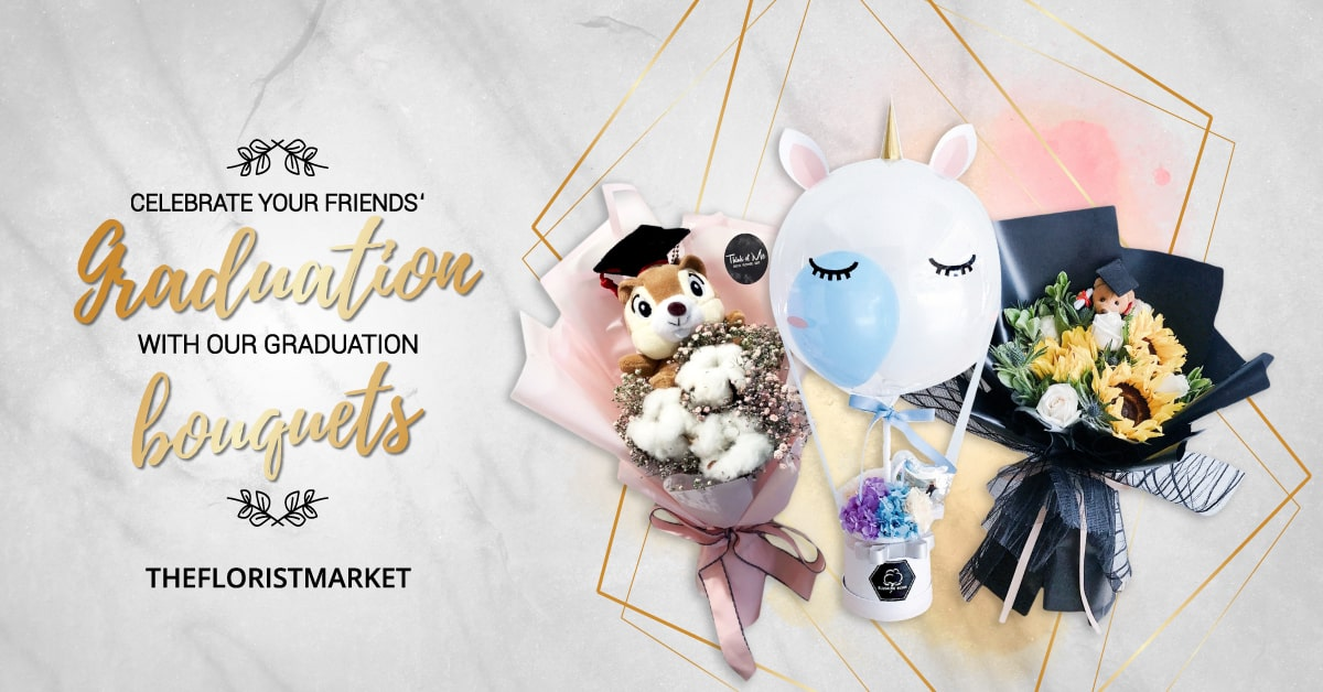 Trending Graduation Bouquets Kuala Lumpur  - TheFloristMarket