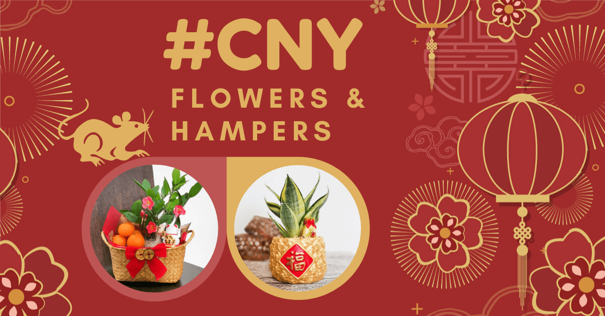 Chinese New Year Flowers & Hampers in Kuala Lumpur